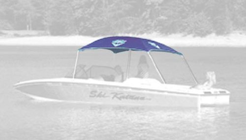Taylor Made Products Anchorshade Complete Boat Sun Shade Set (Navy Blue)