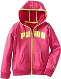 Puma - Kids Girls 7-16 Active Core Hoodie, Raspberry Rose, Medium