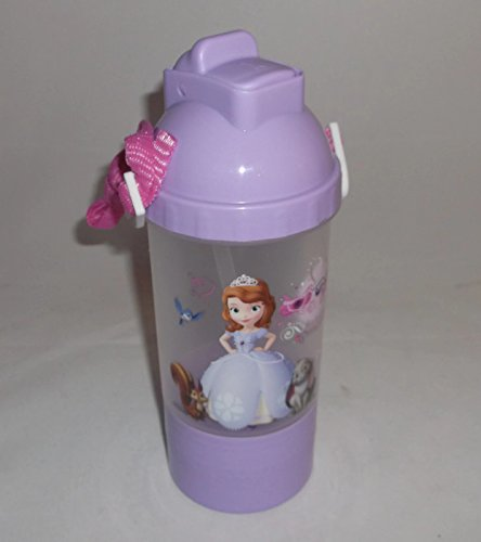 Disney Rock N Sip Snack Canteen Water Bottle For Kids - Sophia The First front-706840