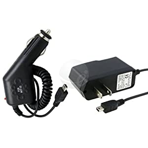 Car DC + Home AC Charger Plug For TomTom One XL XL-S XLS