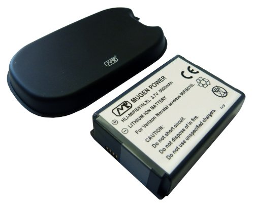 974a6d8be4fe91 Mugen Power Extended 5000mah Battery for Verizon Jetpack 4g LTE Mobile  Hotspot Mifi 5510L