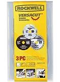 Rockwell RW9232K VersaCut Circular Saw Blade Set, 3-Piece