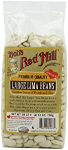 Bob's Red Mill Large Lima Beans, 28-Ounce Packages (Pack of 4)