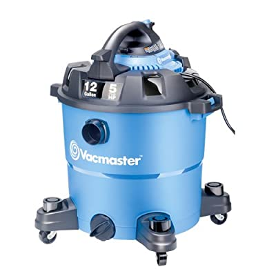 Vacmaster 12 Gallon, 5 Peak HP, Wet/Dry Vacuum with Detachable Blower, VBV1210 from Vacmaster
