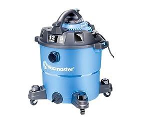 Vacmaster VBV1210 Detachable Blower Wet/Dry Vacuum, 12 Gallon, 5 Peak HP