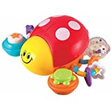 Winfun Press 'N Go Activity Ladybug, Multi Color