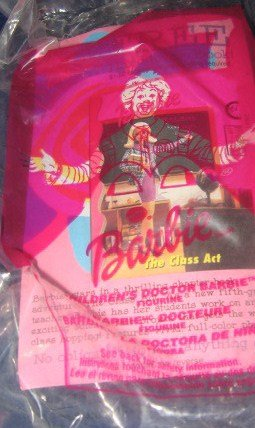 Mcdonalds Barbie #7 ( Children's Doctor Barbie ) 2001 - 1