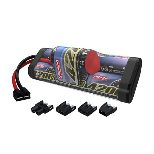 Venom 8.4v 4200mAh 7-Cell Hump Pack NiMH Battery with Universal Plug System