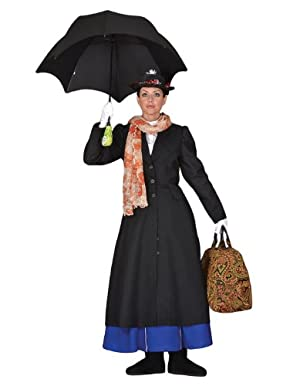 Deluxe Mary Poppins Costume- Theatrical Quality
