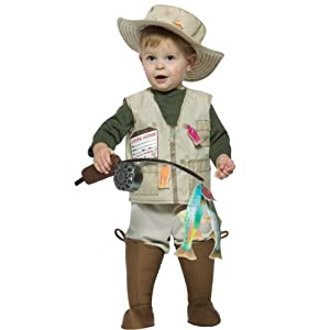 Rasta Imposta Future Fisherman Costume, Brown, 18-24 Months