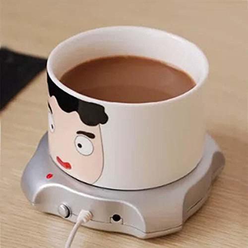 4 Port USB HUB Cup Warmer Office Coffee Tea Mug Heater Pad Mat USB Coffee Insulation Mug Keep Hot Beverage Warm