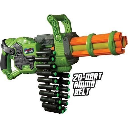 Prime Time Toys Dart Zone Scorpion Motorized Automatic Gatling Blaster by Dart Zone günstig bestellen