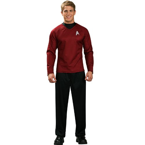 Star Trek Movie Deluxe Red Shirt, Adult XL Costume
