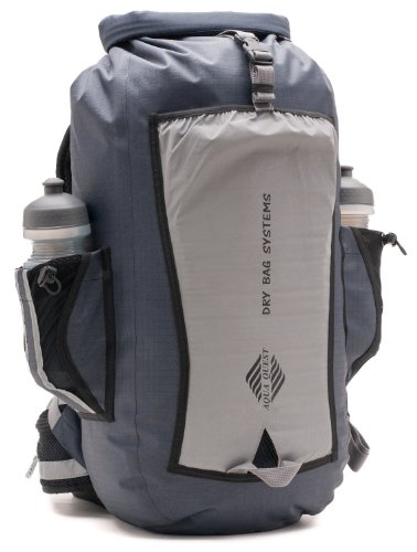 Aqua Quest 'Sport 25 Pro' Waterproof Backpack Dry Bag – 25 L / 1500 cu. in. Reflective Model