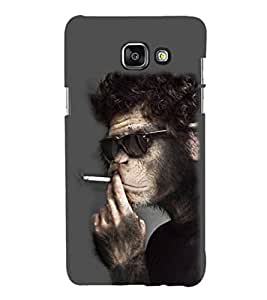 printtech Cool Monkey Smoke Back Case Cover for Samsung Galaxy A5 (2016)