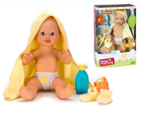 Fisher Price Little Mommy My Baby Scrub a dub