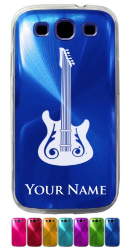 Samsung Galaxy S3 Siii Case/Cover - Electric Guitar / Music Instrument - Personalized For Free (Click The Contact Seller Button After Purchase And Send A Message With Your Case Color And Engraving Request)