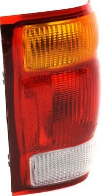 Evan-Fischer EVA15672012585 Tail Light Lamp Passenger Right RH Side Amber, Clear & Red Lens Halogen (1998 Ford Ranger Tail Light Cover compare prices)