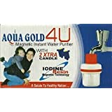 Set Of 2 Original Aqua Gold Water Purifier With Two Extra Filter
