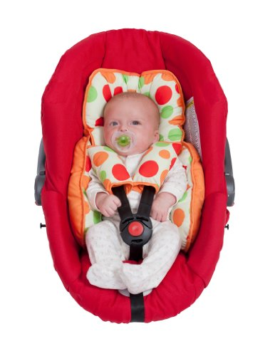 Clevamama Car Seat Support with 2 Cushion Strap Covers