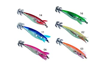 Dblue Squid Jigs Set from DBlue