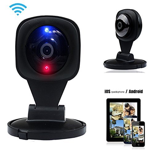 Fentac Original Wifi Ip Camera V380 mini wireless surveillance Security Monitor Alarm 720p Hd Cctv Lens Led Night Vision