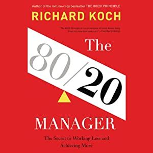 The 80/20 Manager Hörbuch