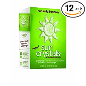 Get A FREE Sample of SUN CRYSTALS All-Natural Sweetener With Stevia