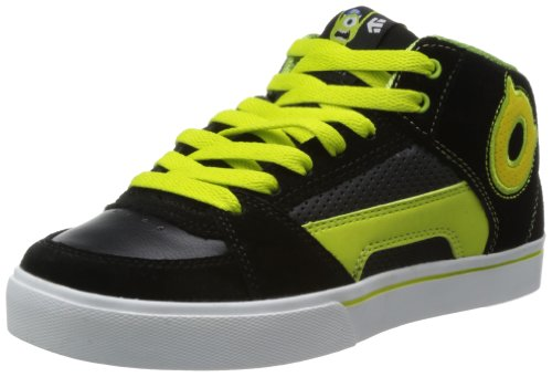 Etnies Unisex-Child Disney Monsters Kids RVM Black/Green/White Trainers 4301000116 1 UK, 34 EU, 2 US