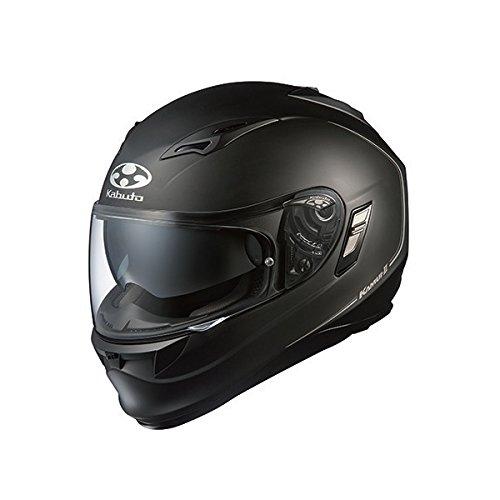 オージーケーカブト(OGK KABUTO)バイクヘルメット フルフェイス KAMUI2 フラットブラック (サイズ:XL)