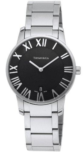 [ティファニー]Tiffany&Co. 腕時計 AtlasDome ブラック文字盤 Z1800.11.10A10A00A メンズ 【並行輸入品】