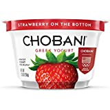 Chobani, Strawberry Non Fat Greek Yogurt, 5.3 oz