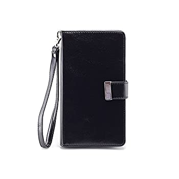 2. IZENGATE Nokia Lumia 1520 Wallet Case - Executive Premium PU Leather Flip Cover Folio with Stand