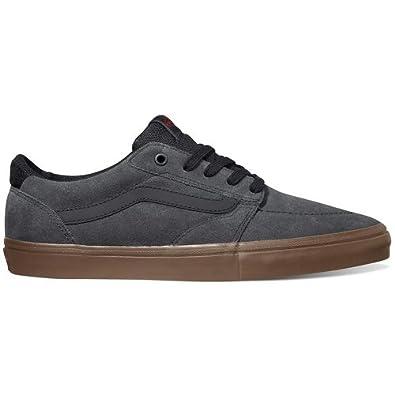 Vans Lindero Mens Skate Shoes in Dark Grey/Gum sz:9