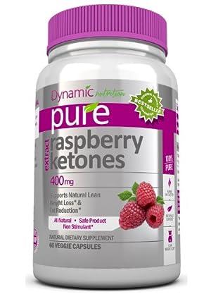 PURE KETONES Raspberry Ketones, 400 mg Per Serving