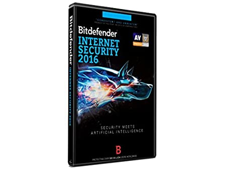 Bitdefender Internet Security 2016 - 1 Year - 3 Users - DVD Case (PC)