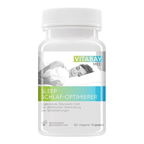 SLEEP - ottimizzatore di sonno per il trattamento di sonno - il sonno più veloce e migliore (60 capsule vegetali)