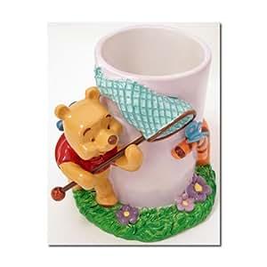 Disney Winnie The Pooh Butterfly Bathroom Tumbler Home Kitchen