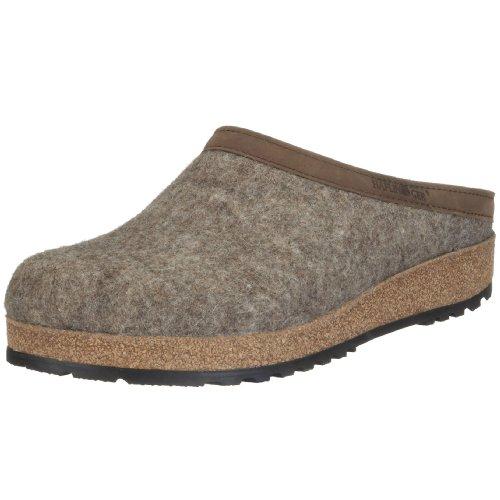 Haflinger - Torben, Pantofole A Casa, unisex, beige (550 torf), 43