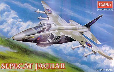 Jaguar Academy Model Kit  Sepecat Jaguar