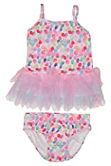 Kate Mack Baby-Girl's Infant Up Up And Away 2pc Swimsuit - Multi