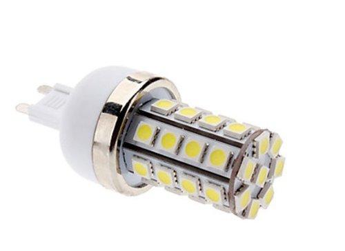 Factop Led Corn Bulb 85-265V G9 7W 36X5050 Smd 700-750Lm 6000-6500K Natural White Light