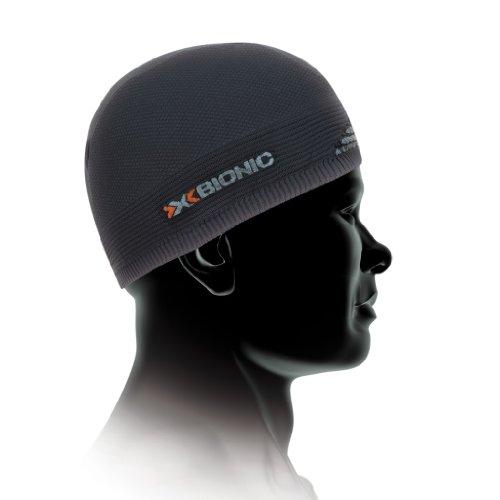 X-Bionic, Cappello sottocasco , Grigio (light charcoal/pearl grey), Taglia 1 (54-58 cm)