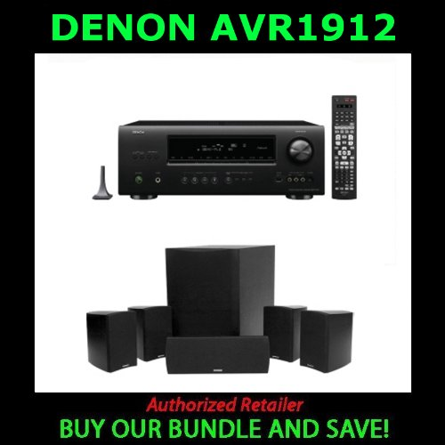 Home theater systeme: Denon AVR-1912 7 1 Channel A/V Home