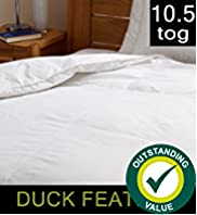 Outstanding Value Duck Feather 10.5 Tog Duvet