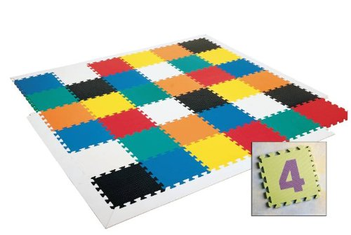 Picture of American Creative Team Wonder Mats - Numeral Mats 0-9 - Set of 10 Mats (B0042SR9UU) (Puzzle Play Mats)