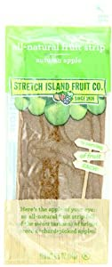 Stretch Island All-Natural Autumn Apple Fruit Strips, 0.5-Ounce Bars (Pack of 30)