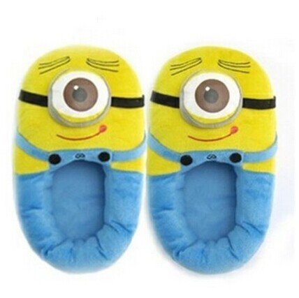 Minion Slippers Despicable Me 3D Eyes