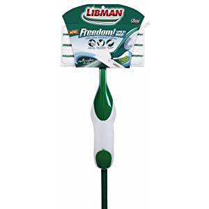 Libman Freedom Spray Mop Reviews