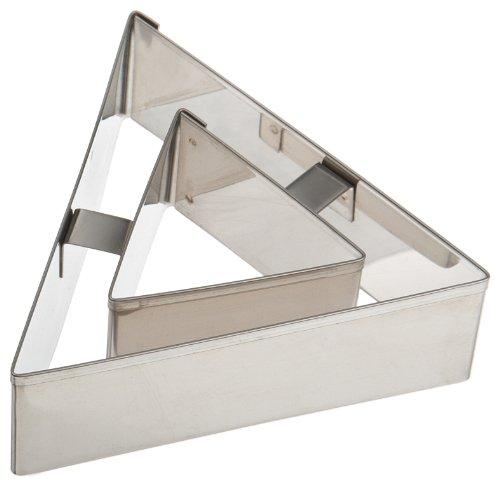 Ateco Triangle Vol Au Vent Cutter (Vent Cutter compare prices)
